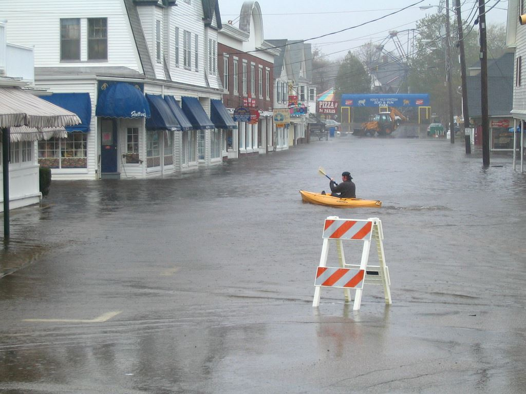 coastal flooding
