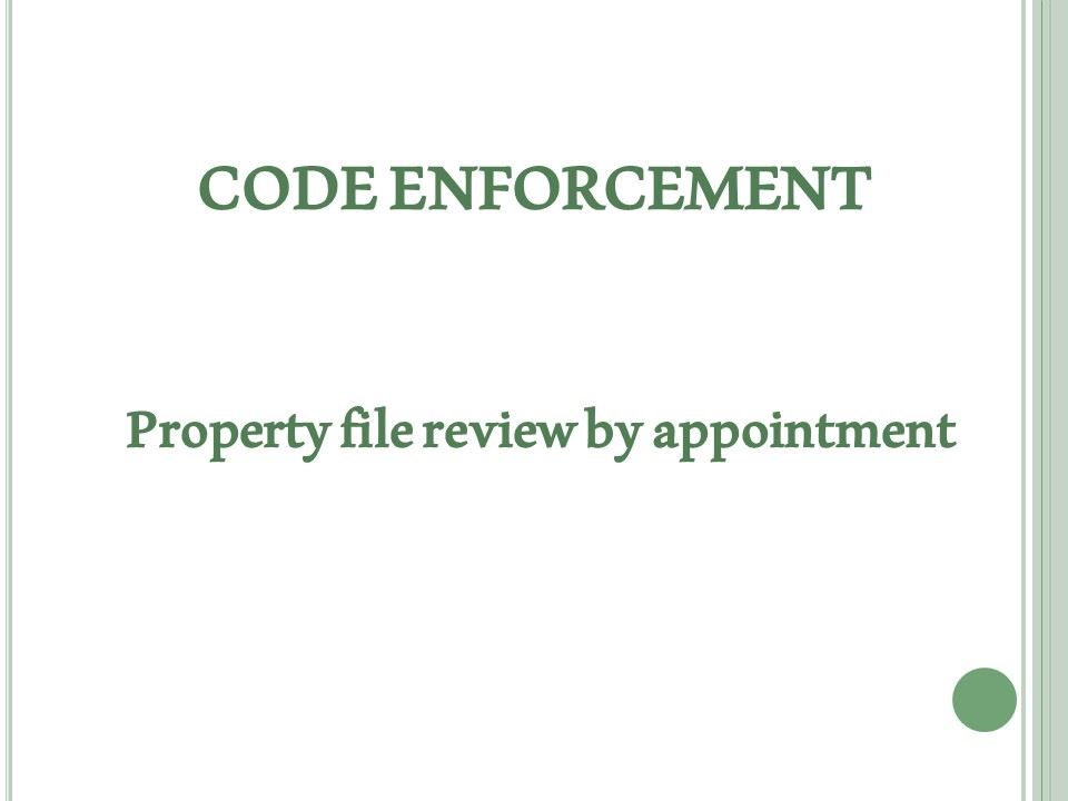 code enforcement 2